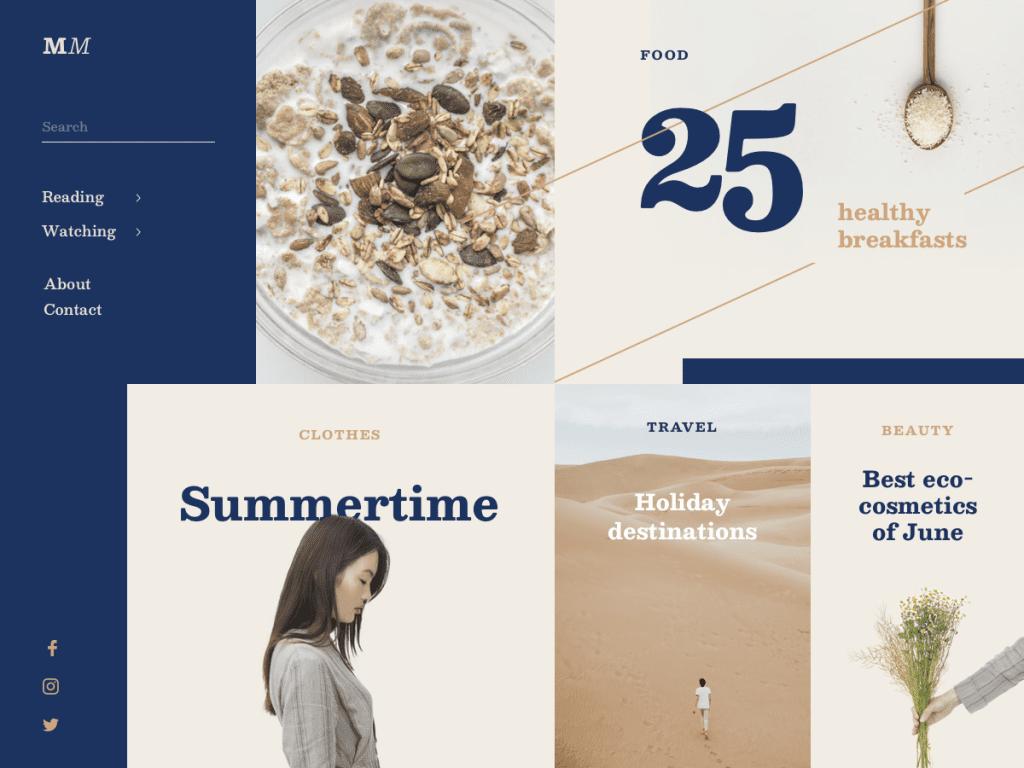 7 Web Design Trends for 2019 | Maze